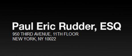Paul E Rudder, Esq - Divorce Lawyer NYC